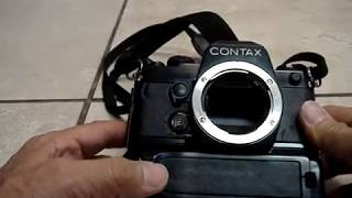 Contax vintage film camera made in Japan