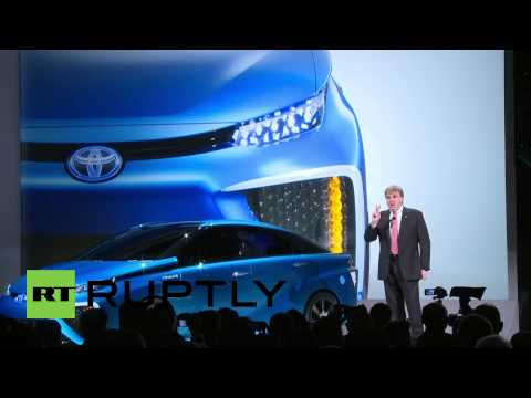 CES: Toyota reveals their hydrogen 'Car of the Future'