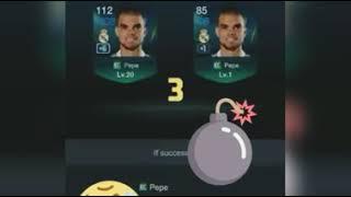 Fifa online 3 pepe 6 + 1 = Wat happen ?