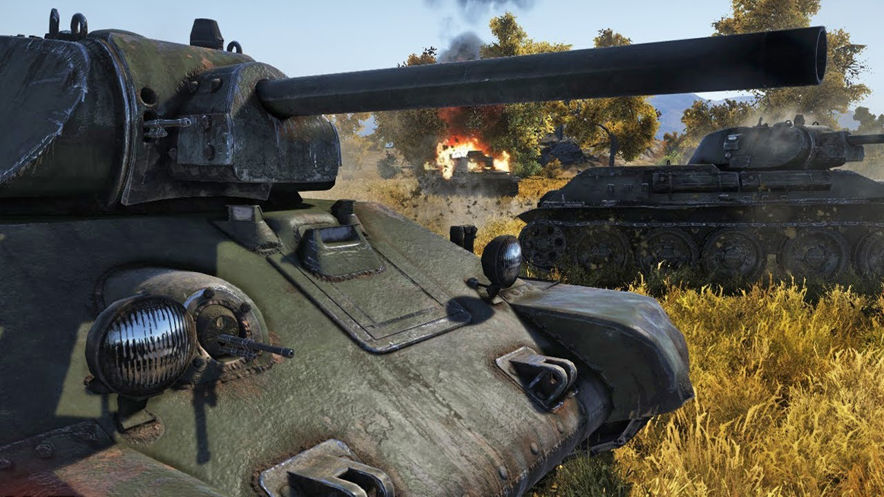 war thunder how to play t-34