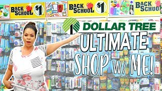 ULTIMATE DOLLAR TREE SHOP WITH ME: 3 STORES! Back To School, Snack Zone + Fall Decor Finds!
