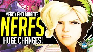 Overwatch: Mercy and Brigitte NERFS! HUGE Support Changes!