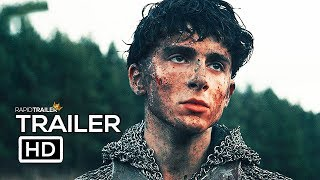 THE KING Official Trailer #2 (2019) Timothée Chalamet, Robert Pattinson Movie HD