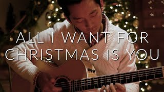 All I Want For Christmas Is You (Mariah Carey) - Fingerstyle Acoustic Guitar Cover