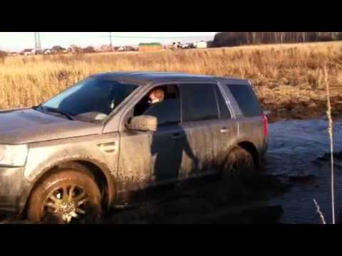 Land Rover Freelander 2, болото