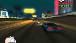 GTA SAN ANDREAS-COMO ANDAR MAS RAPIDO EN LA MOTO,CON LA MOTO MAS RAPIDA DEL GTA