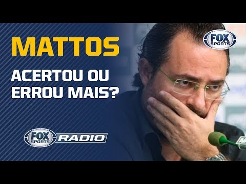 AS CONTRATAwES DE MATTOS! quotFOX Sports Rdioquot analisa contrataes desde 2015