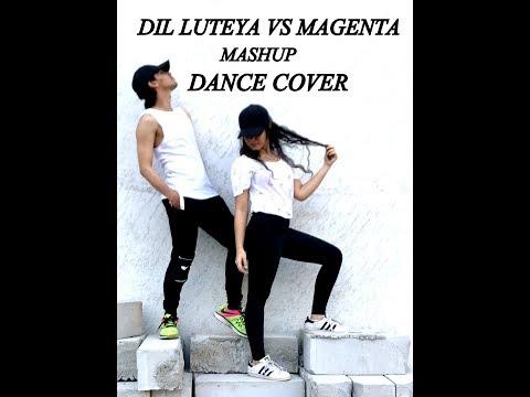 Dil Luteya Vs  Magenta Riddim DJ Snake | Dance  Cover | jazzy b thumbnail