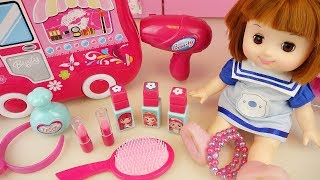 Baby doll pink car and hair shop toys baby Doli play