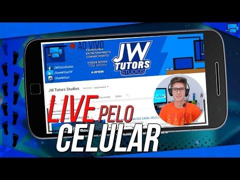 Como Fazer Livestream Pelo Celular (Trasmita Ao Vivo no YouTube pelo Celular) #Passo9 thumbnail
