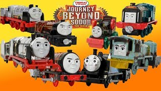 THOMAS AND FRIENDS TRACKMASTER/ADVENTURES|JOURNEY BEYOND SODOR TOY TRAINS Unboxing Compilation