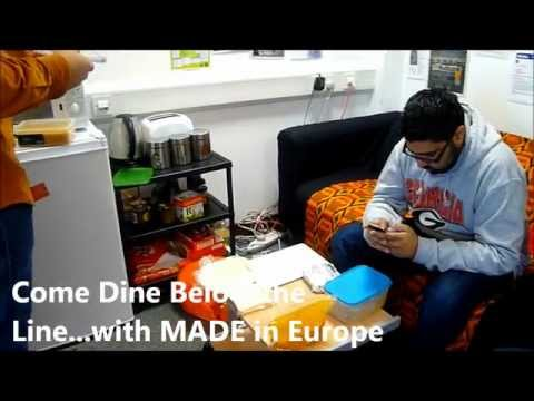 Come Dine Below the Line with MADE in Europe