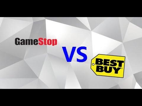GameStop vs  Best Buy