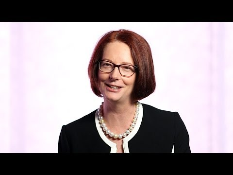 Julia Gillard: Making Technology Work for Education