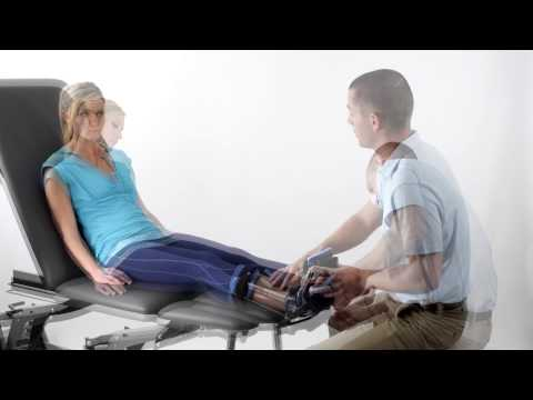 Empi Advance Dynamic ROM - Ankle Orthosis Tension Adjustment