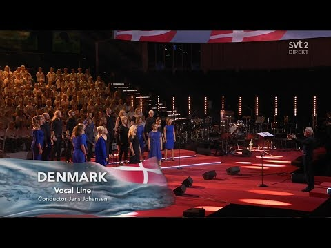 Denmark - LIVE - Vocal Line - True North - Semi-Final - Eurovision Choir 2019 (HQ)