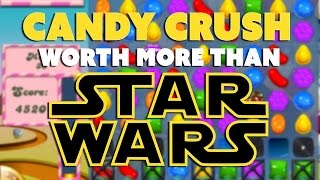Candy Crush Worth MORE Than Star Wars?! - The Know