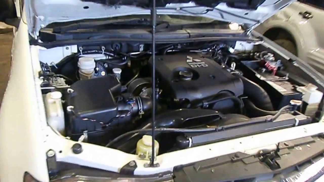 Mitsubishi Triton Engine 2 5  4d56  131kw  4wd  Turbo
