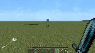Minecraft how to kill a Creeper