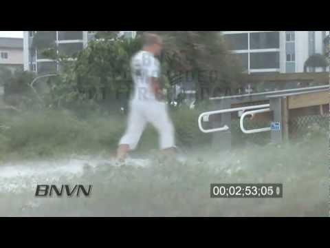 7/19/2009 Windstorm hits people on Siesta Key Beach in Florida
