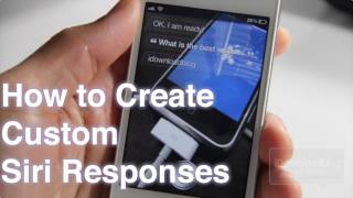 How to Create Custom Siri Responses With AssistantExtensions