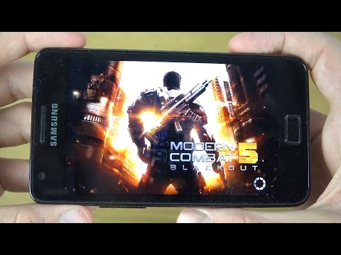 Modern Combat 5 Samsung Galaxy S2 4K Gaming Review