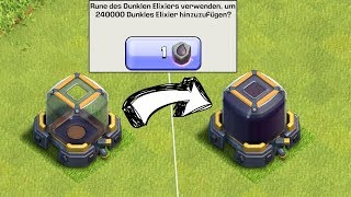 DIREKT 240.000 DUNKLES ELIXIER! ☆ Clash of Clans ☆ CoC