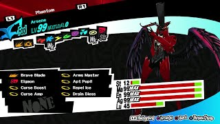 I Tried Recreating Prologue Arsene. (Persona 5)