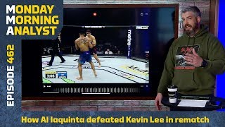 How Al Iaquinta Defeated Kevin Lee At UFC On FOX 31  Monday Morning Analyst #462