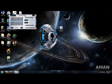 Alienware Invader Theme For Windows 7 Windows Media Player+Download Link HD