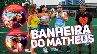 GINCANA: BANHEIRA COM MC POCAHONTAS, MC DEDE E DUDA | #HottelMazzafera