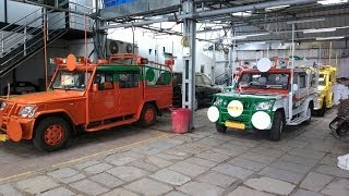 Political Campaign Vehicles being readied for sale - Mahindra Bolero Camper Pickup