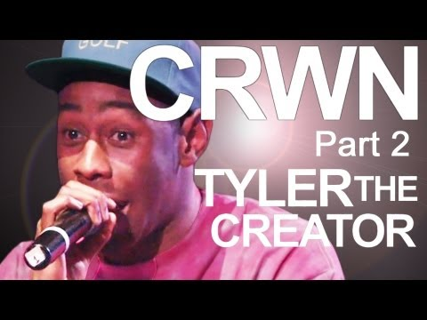 CRWN w/ Elliott Wilson Ep. 1 Pt. 2: Tyler The Creator Talks Family, Goats, and Playing w/ The Roots