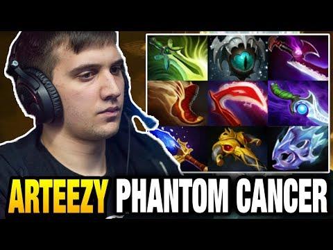 Arteezy vs MinD_ContRoL - Crazy 9 Slotted Phantom Cancer Dota 2