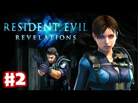 Resident Evil Revelations - Gameplay Walkthrough Part 2 - Double Mystery (3DS. PS3. XBox 360)