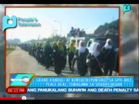 Grand Kanduli at konsultasyon ukol sa GPH-MILF peace deal, isinagawa sa Shariff Aguak