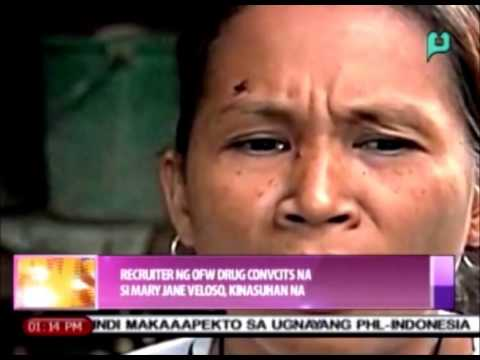 News@1: Recruiter ng OFW drug convict na si Mary Jane Veloso, kinasuhan na