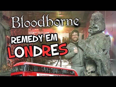 Remedy Em Londres: O campeÃo De Bloodborne! video