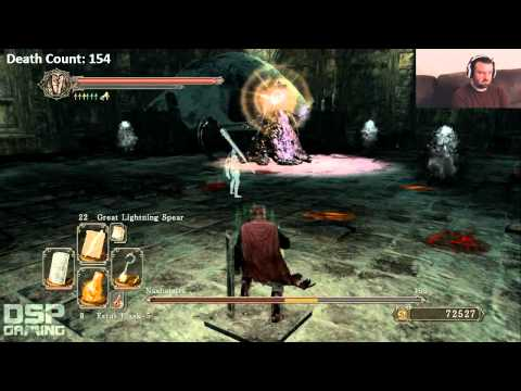 Dark Souls II playthrough pt184 (Throne Watcher/Defender and Nashandra Bosses)
