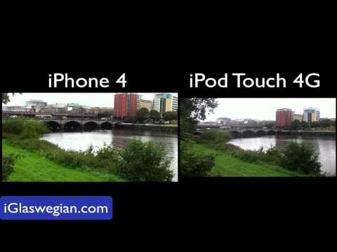 iPod Touch 4G Camera VS iPhone 4: Part 2