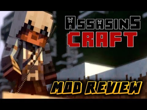 MINECRAFT: REVIEW - ASSASINS CREED MOD + SERIE CON KINDGOM? -