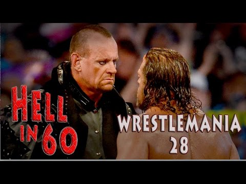 60 Seconds In Hell - The Undertaker Vs. Triple H - Wrestlemania 28 video