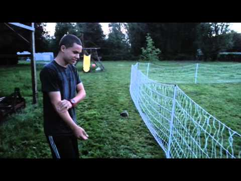 Testing Premier 1 poultry netting