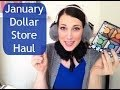 January Dollar Store Haul