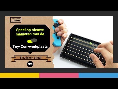 Ontdek nieuwe manieren om te spelen met de Toy-Con-werkplaats - Deel 3 (Nintendo Labo)