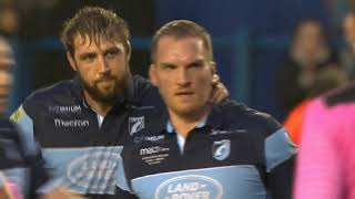 Farewell Gethin Jenkins - Cardiff Blues vs. Zebre Rugby
