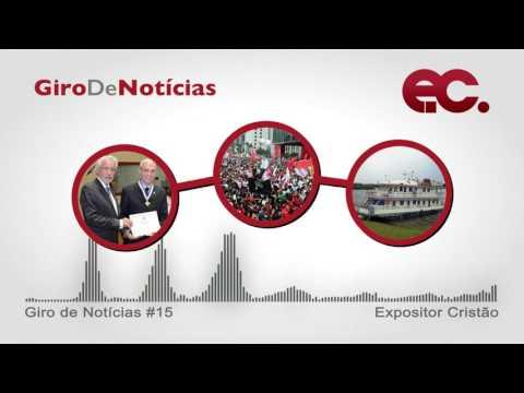 Giro de notícias #015 - Giro Regional 8RE - Reforma da Previdência - Metodismo capixaba