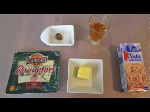 Salsa roquefort para carnes - Recetas de salsas