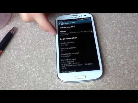 How to check esn / imei number on a Samsung galaxy S3