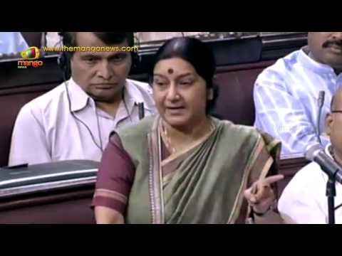 Sushma Swaraj clarifies controversial Bangladesh Boundary Agreement in Parliament